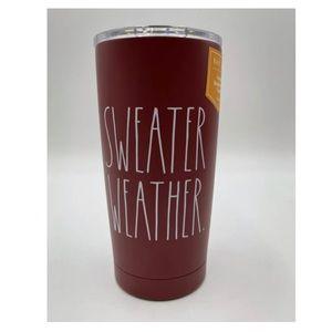 Rae Dunn Sweater Weather Tumbler